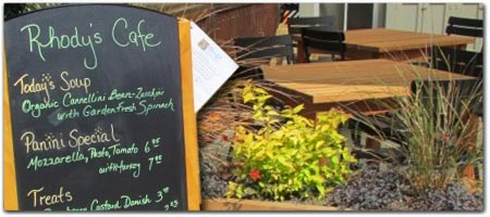 Click for more information on Rhody\'s Garden Cafe.