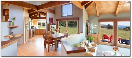 Click for more information on MENDOCINO SUNRISE HOUSE --  2 King & 2 Queen Beds | Sleeps 8.