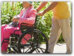Click for more information on WHEELCHAIR ACCESSIBLE LODGING.