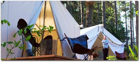Click for more information on The NEW Mendocino Campground.