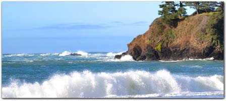 Click for more information on Van Damme State Beach.