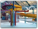KID FRIENDLY INDOOR POOL &WATERSLIDE